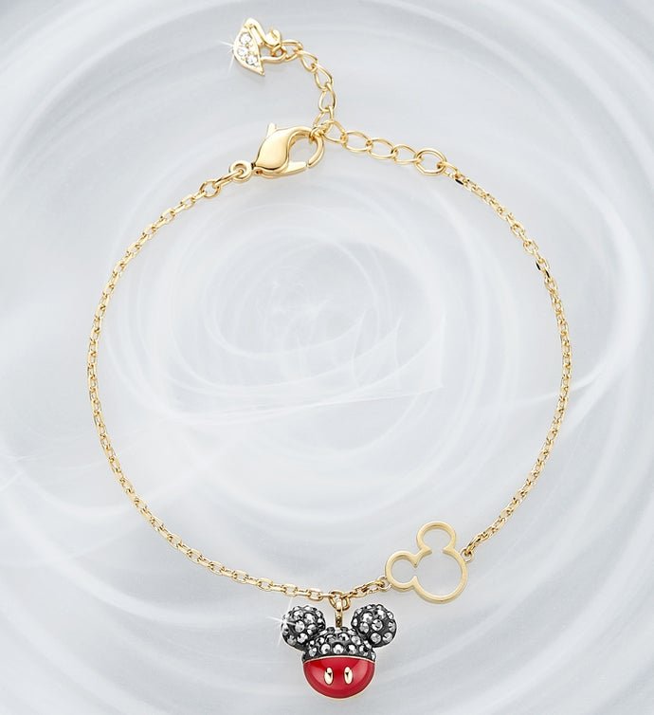 Swarovski ® Mickey and Minnie Bracelet