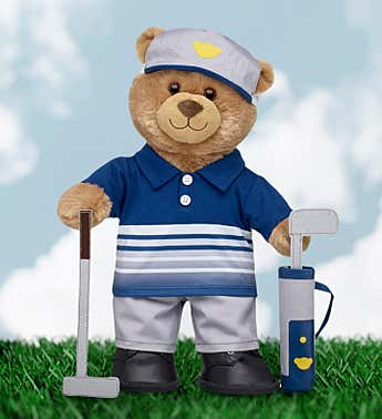 Build-A- Bear® Pro Golf Bear