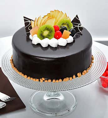 Fruit Chocolate Cake 1kg