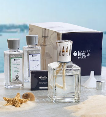 Lampe Berger Square Fragrance Lamp Set
