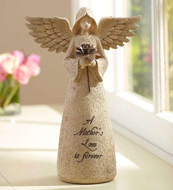 Mother's Love Inspirational Angel Statue