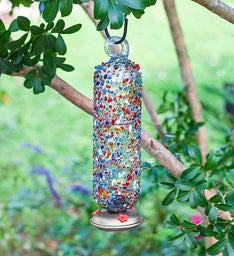 Hummingbird Feeder–Filigree Sprinkles