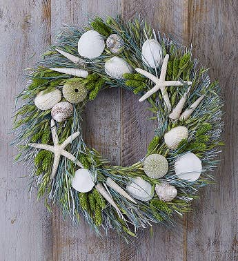 Preserved Seaside Wreath 16