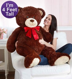 Handsome Henry 4' Extra Large Plush Bear