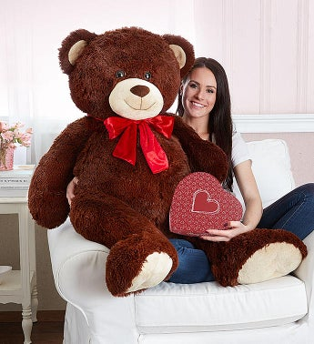 Lotsa Love Handsome Henry Giant Bear With Truffles