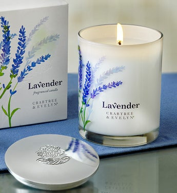 Crabtree & Evelyn Lavender Candle