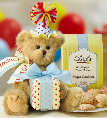 Bearington® Happy Birthday Bear with Cookies