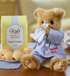 Bearington® Get Well Bear with Cookies