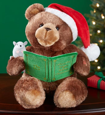 Christmas Story Time Animated Bear by Gund®