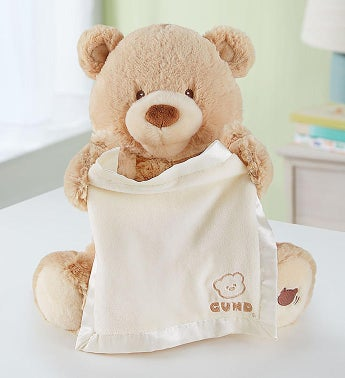 Personalized Gund® Peek A Boo Bear