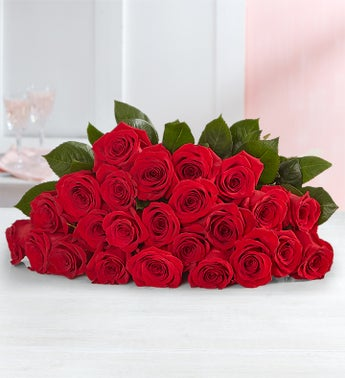 Red Roses 12-24 Stems