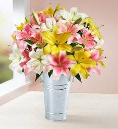 Sweet Spring Lilies: Double Your Bouquet for Free