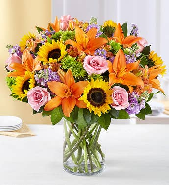 Send Sunflowers | Sunflower Bouquet Delivery | 1800Flowers.com