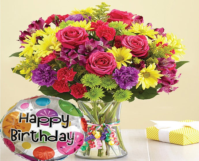 Its Your Day Bouquet Happy Birthday From 1 800 Flowerscom