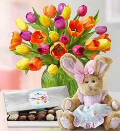 Sweet Treat Easter Tulips