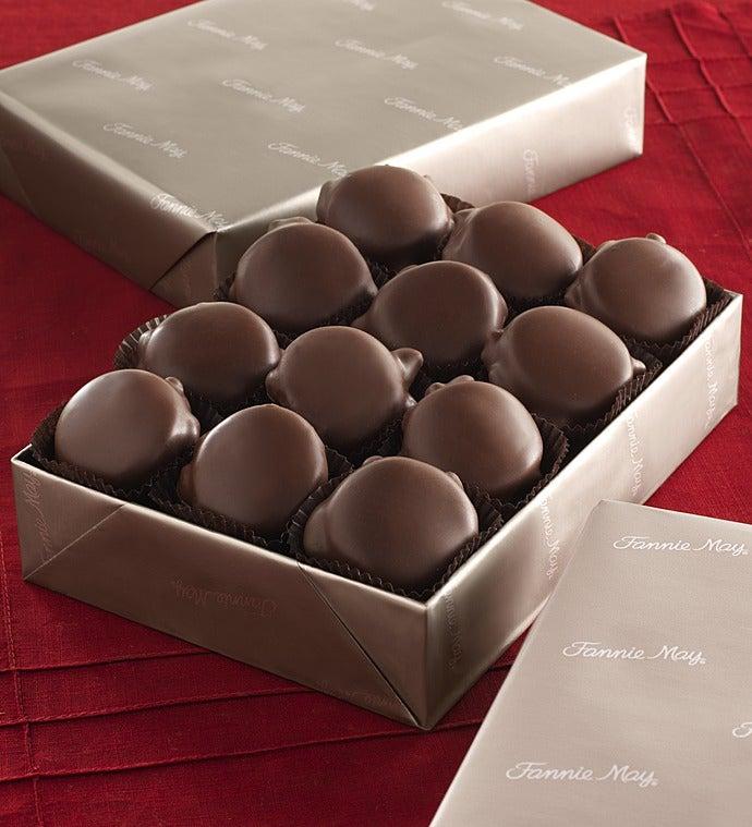 November - Fannie May 1 lb Pixie Chocolate Box