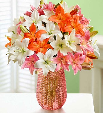 Vibrant Summer Lilies: Double Your Bouquet