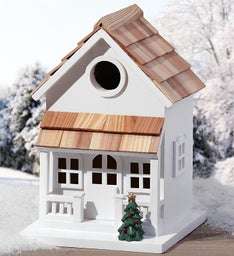 Winter Retweet Birdhouse