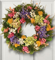 Florence Garden Preserved Wreath -16""