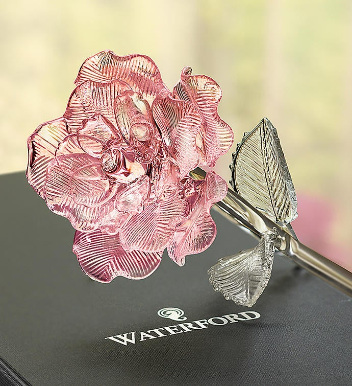 Waterford Glass Rose
