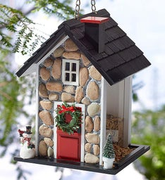 Fieldstone Winter Birdfeeder