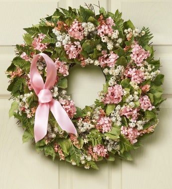 Hope, Strength, Love Wreath