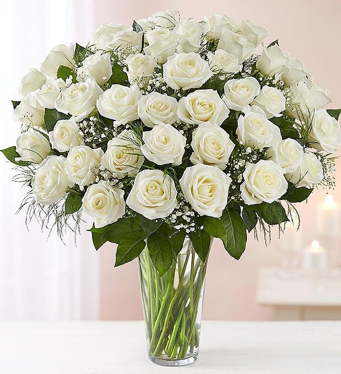 Ultimate elegance long stem white roses 1800flowers 98714 ultimate elegance long stem white roses mightylinksfo