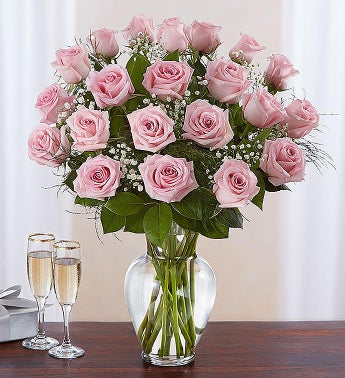 Rose Elegance™ Premium Long Stem Pink