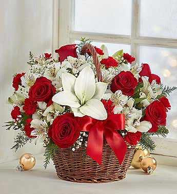 Fields of Europe® Christmas Basket