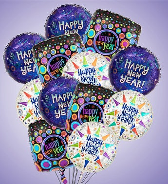 Air-Rangement® Happy New Year Mylar Balloons Large