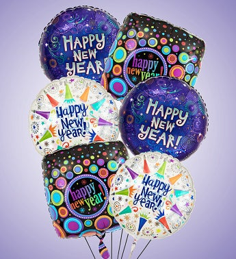 Air-Rangement® Happy New Year Mylar Balloons Small