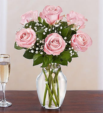 Love's Embrace™ Pink Roses
