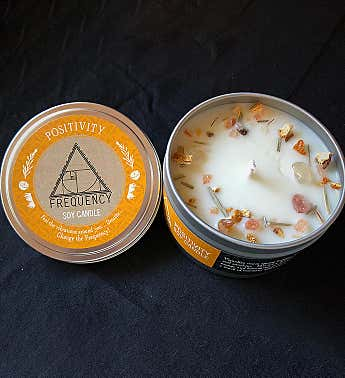 Positivity Essential Oil Soy Candle