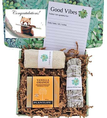 """Congratulations"" Good Vibes Women's Gift Box"