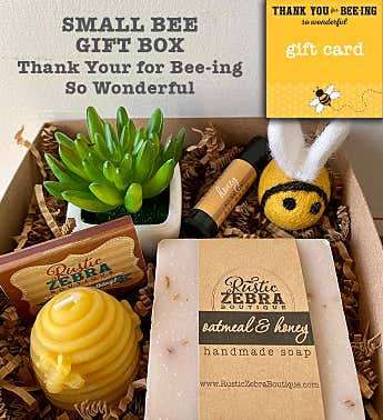 Thank You For Beeing Succulent Spa Gift Box