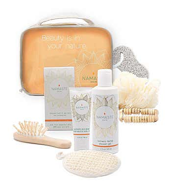 Namaste Home Spa Gift Set - Grapefruit 9 piece