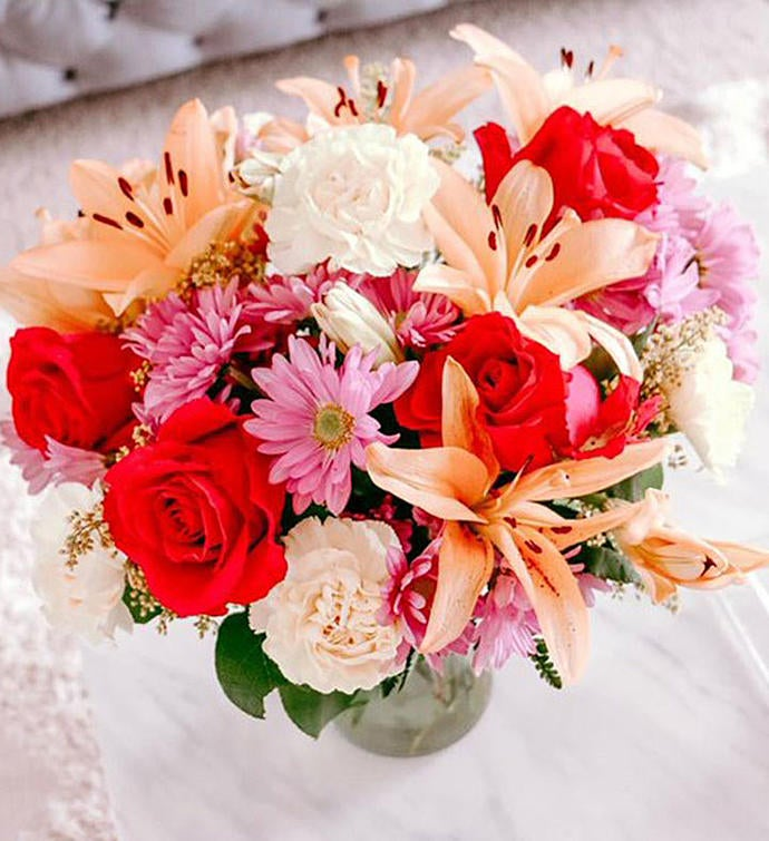 Personally Designed Romantic Bouquet