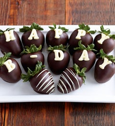 Birthday Chocolate-Covered Strawberries