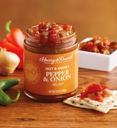 Smoky Pepper and Onion Relish
