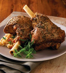 Rosemary Lamb Shank