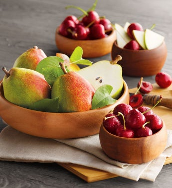 Royal Verano® Pears and Plump-Sweet Cherries