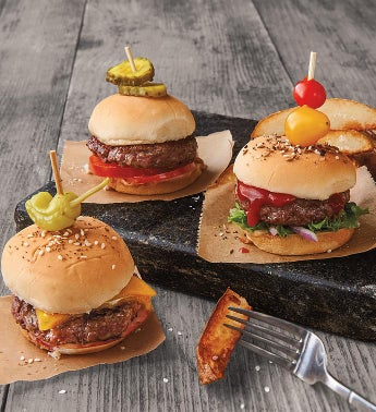 Mini Steak Burgers 8211 Fifteen 267-Ounce USDA Prime