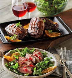Honey Orange Duck Breasts