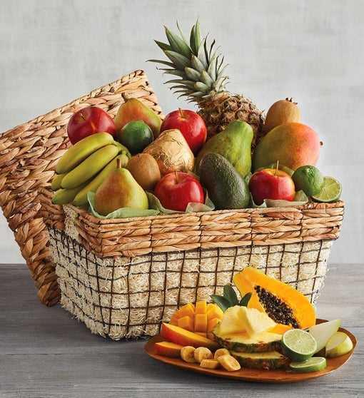 Deluxe Fresh Fruit Basket