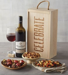 Celebrate Wine Box with Snacks