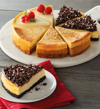 Holiday Cheesecake Party Wheel