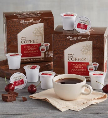 Chocolate Cherry Decadence Single-Serve Coffee Two-Pack