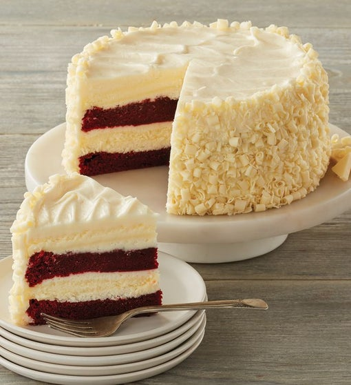 The Cheesecake Factory® Ultimate Red Velvet Cake Cheesecake™ - 7
