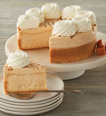 The Cheesecake Factory174 Dulce de Leche Caramel Cheesecake - 734