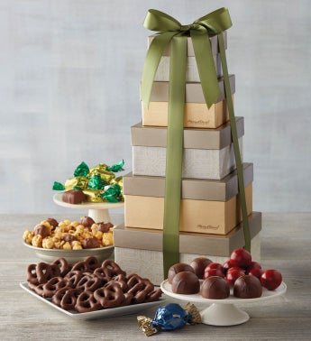 Signature Chocolate Gift Tower